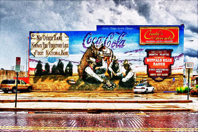 Photograph - Large North Platte Wall Mural by Bill Kesler