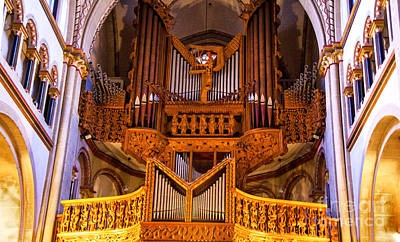 Photograph - Large Organ by Rick Bragan