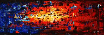 Painting - Large Painting by Jolina Anthony