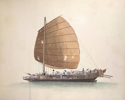 Illustration Technique Photograph - Large Passenger Boat by British Library