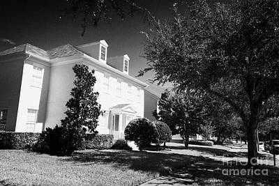 Large Residential Home Property Real Estate In Celebration Florida Usa Art Print by Joe Fox