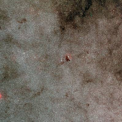 Barnard Photograph - Large Sagittarius Star Cloud by Eso/digitized Sky Survey 2. Acknowledgement: Davide De Martin