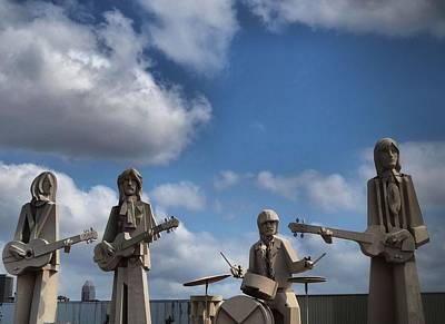 Photograph - Larger Than Life Beatles by Dan Sproul