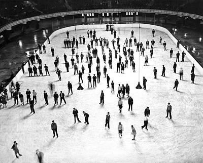 Largest Ice Skating Rink Art Print