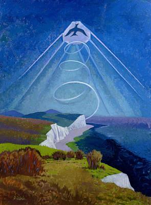 Lark Ascending Print by Osmund Caine