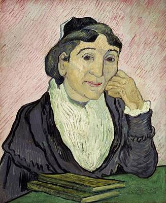 Desk Painting - L'arlesienne Madame Ginoux by Vincent van Gogh