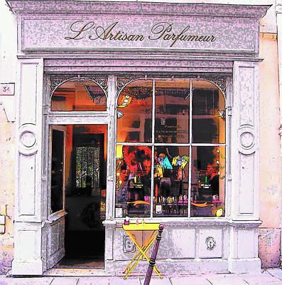 L'artisan Parfumeur Paris Art Print by Jan Matson