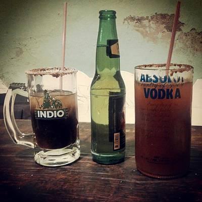 Las 3 Botellas Original by Fernando Viramontes