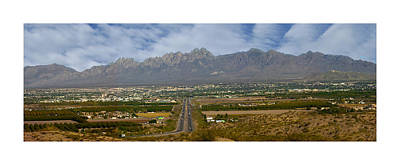 Las Cruces New Mexico Panorama Art Print by Jack Pumphrey