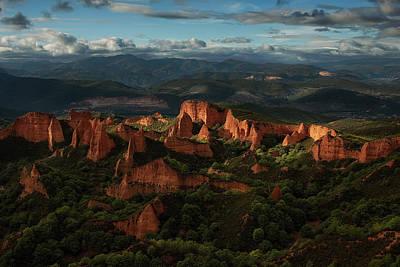 Cliffs Wall Art - Photograph - Las Ma?dulas by Martin Zalba