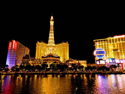 Photograph - Las Vegas 012 by Lance Vaughn
