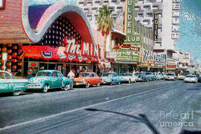 Las Vegas 1959 Art Print