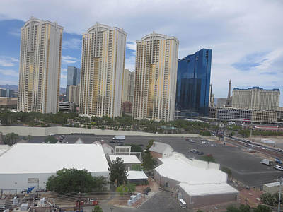Photograph - Las Vegas Architecture Landscape From Desert Resort by Navin Joshi
