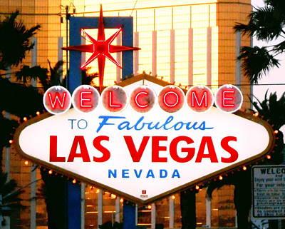 Las Vegas At Night Original