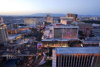 Photograph - Las Vegas At Twilight by Willie Harper