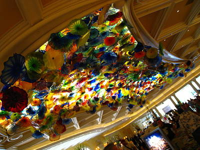 Las Vegas - Bellagio Casino - 12121 Art Print by DC Photographer