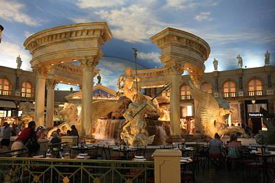 Las Vegas - Caesars Palace - 121211 Art Print