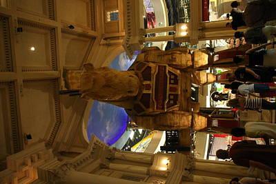 Greek Photograph - Las Vegas - Caesars Palace - 121213 by DC Photographer