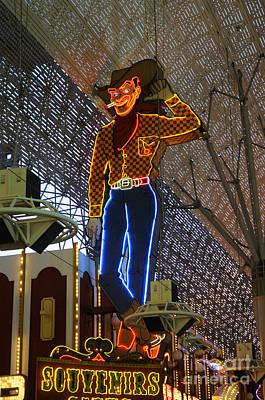 Photograph - Las Vegas Cowboy by Brenda Kean