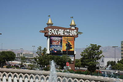Castle Photograph - Las Vegas - Excalibur Casino - 12123 by DC Photographer