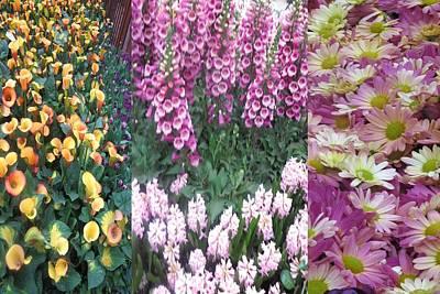 Mixed Media - Las Vegas Flower Arrangements Interior Decorations Casinos Resorts Hotels  Signature   Art  Navi by Navin Joshi