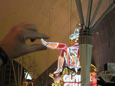 Las Vegas - Fremont Street Experience - 12129 Print by DC Photographer