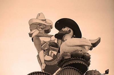 Glitter Gulch Photograph - Las Vegas - Glitter Gulch by Frank Romeo