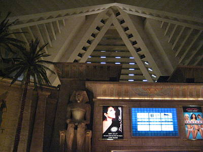 Egyptian Photograph - Las Vegas - Luxor Casino - 12122 by DC Photographer