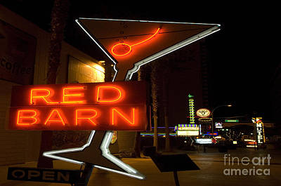 Freemont Street Photograph - Las Vegas Neon 10 by Bob Christopher