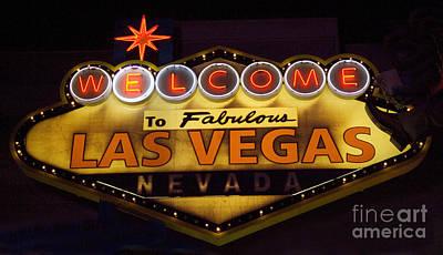 Las Vegas Neon 11 Art Print