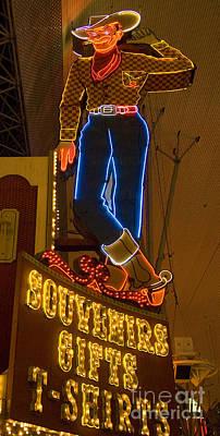 Las Vegas Neon 12 Art Print
