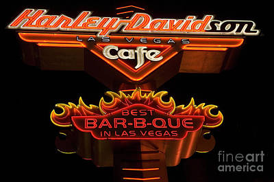 Las Vegas Neon 14 Art Print