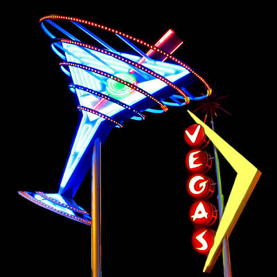 Photograph - Las Vegas Neon Signs by Gigi Ebert