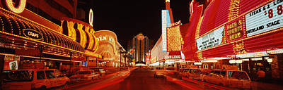 Las Vegas Nv Usa Art Print by Panoramic Images