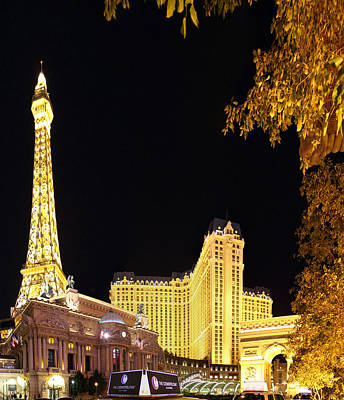 Las Vegas - Paris Casino - 01132 Art Print by DC Photographer