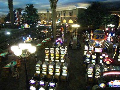 Las Vegas - Paris Casino - 121211 Art Print by DC Photographer