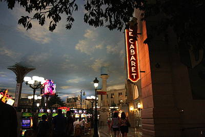 Las Vegas - Paris Casino - 121223 Art Print by DC Photographer