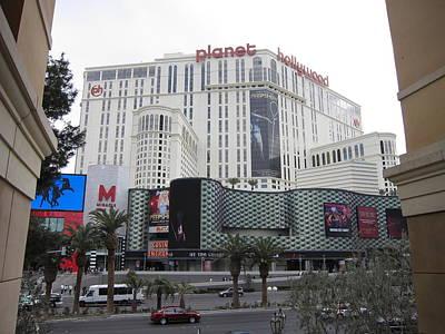 Las Vegas - Planet Hollywood Casino - 12123 Print by DC Photographer
