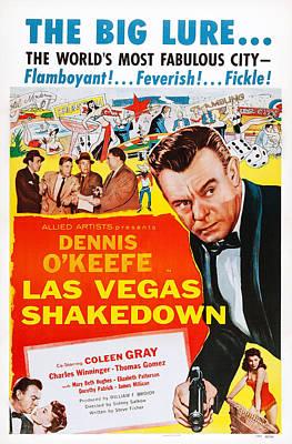Las Vegas Shakedown, Us Poster Art Art Print by Everett