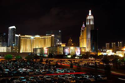 Tropicana Las Vegas Photograph - Las Vegas Skyline  by Arnold Despi
