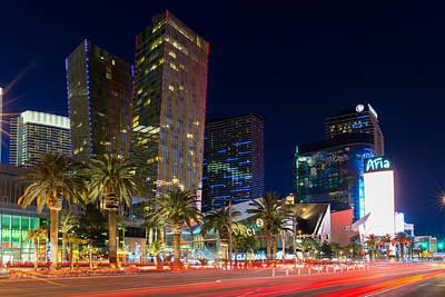 Aria Photograph - Las Vegas Strip by Clint Buhler
