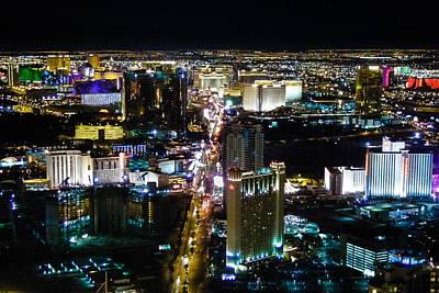 Photograph - Las Vegas Strip  by Lars Lentz