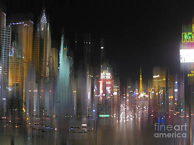 Tropicana Las Vegas Photograph - Las Vegas Surreal 2 by Rod Jones