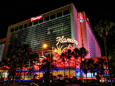 Photograph - Las Vegas - The Flamingo 001 by Lance Vaughn