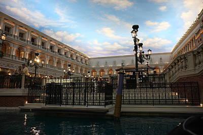 Vegas Photograph - Las Vegas - Venetian Casino - 121249 by DC Photographer