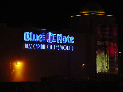 Photograph - Las Vegas Version Of Blue Note by Mieczyslaw Rudek
