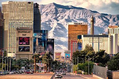 Las Vegas Nevada Art Print by Michael Rogers