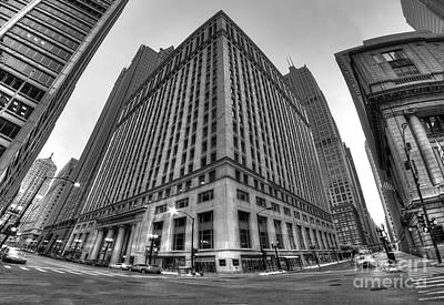 Lasalle Street In Chicago Art Print by Twenty Two North Photography