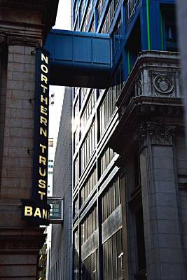 Photograph - Lasalle Street2 by Gerald Greenwood