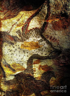 Photograph - Lascaux II No. 5 - Vertical by Jacqueline M Lewis